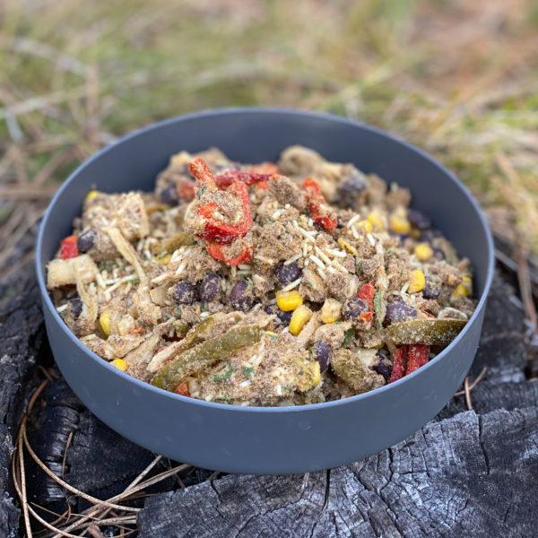 Freeze-Dried Burrito Bowl